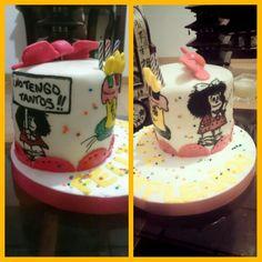 Pastel cumpleaños mafalda