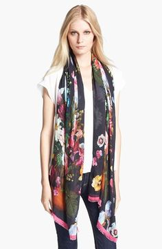 Ted Baker London Floral Print Scarf available at #Nordstrom