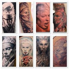 Couple of awesome tattoos!!