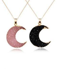 Idee cadeau anniversaire femme- collier Lune