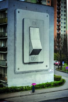 Buildings Turned Into Art | Escif, On/Off, Poland