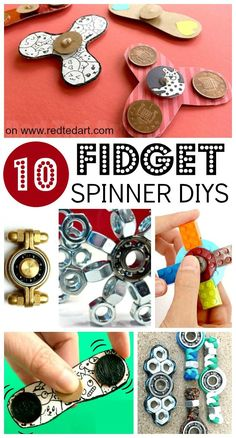 DIY Fidget Spinners - are you looking for easy Fidget Spinners DIYs? Here are a great set of DIYs that show you how to make Fidget Spinners. Fidget Spinners without bearings, as well as cool bearing Fidget Spinner diys. So fun! Kids Crafts, Summer Crafts, Projects For Kids, Diy For Kids, Easy Crafts, Diy And Crafts, Craft Projects, Arts And Crafts, Science Projects