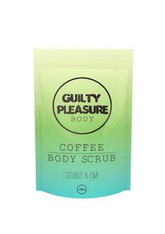 Coconut & Lime Coffee Body Scrub - Guilty Pleasure Body US