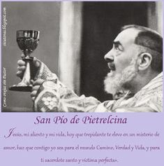 Frases en imagenes: Frases del Padre Pío