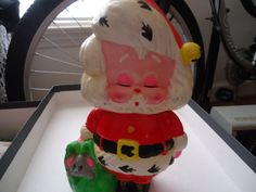 Mod Santa Bank by LittleDrawer on Etsy
