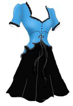 Rockabilly retro 50's pin up fashion dress