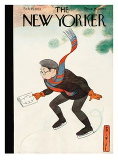 The New Yorker Cover - February 25, 1933 Giclee Print by Rea Irvin at Art.com