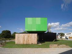 Eco-Friendly Crossbox House by CG Architectes