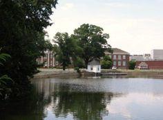 old lake @ Cannon Mills, Kannapolis NC
