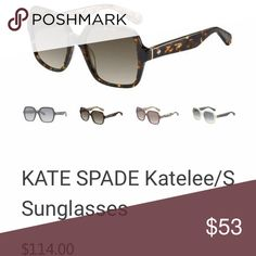 d14bee3b3374 Brand new kate spade Katelee/S sunglass Brand new Imported Plastic frame  Plastic lens Non