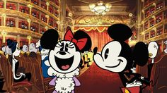 """In """"Dancevidaniya,"""" Mickey squares off for an old fashioned dance battle against…"""