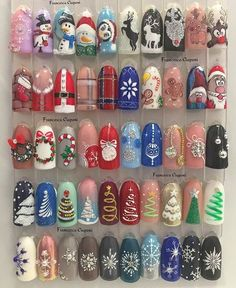 Convenient to apply nail art at home but high quality like salon. With Nail Art Club nail wraps, you can have gorgeous, fashion-inspired nails Nail Art Noel, Xmas Nail Art, Cute Christmas Nails, Christmas Nail Art Designs, Holiday Nail Art, Xmas Nails, Winter Nail Art, Winter Nails, Autumn Nails