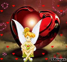 Tinker Bell's Heart Tinkerbell Gifts, Tinkerbell Quotes, Tinkerbell Pictures, Tinkerbell And Friends, Tinkerbell Disney, Peter Pan And Tinkerbell, Tinkerbell Fairies, Disney Fairies, Cute Disney