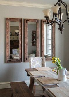 Mirrors are much more than a mere object of vanity. They are also fantastically versatile and are perfect for empty walls.                                                                                                                                                                                 More