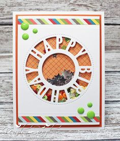 Luv 2 Scrap n' Make Cards, Kendra Sand, Handmade Birthday Card