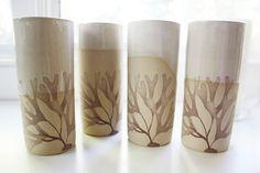 Kelp Cups Hand Made Ceramic