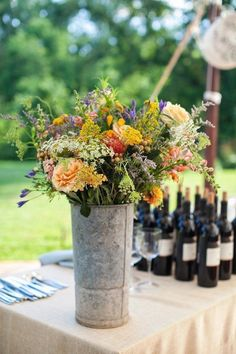 Rustic Wedding Flowers - Deer Pearl Flowers