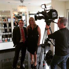 @heavenskincare: #BBCmidlandstoday #filming at my @salon_heaven #shifnal #businessowner #WomenInBiz