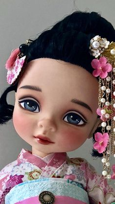 OOAK Disney animator doll Mulan repaint Custom dolls including clothes and accessories
