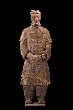 Armored General  鎧甲將軍俑  Qin dynasty (221–206 BCE)