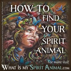 How to Find Your Spirit Animal Pure Vida painting by visionary artist Autumn Skye 1200x1200