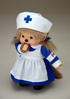 Rakuten: [!] Free shipping retro nurse Monchhichi (Standing mon): Sekiguchi direct fan shop