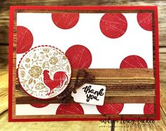 2017 Annual Catalog, Framelit Dies, Layered Circle Dies, Stampin Up, Stitched Shapes, TGIF Design Team, Thank You Cards, Wood Crate Framelits, Wood Words