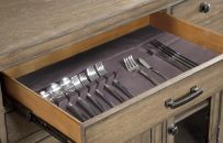 Silverware Storage Tray - A feature of the Brownstone Village Credenza by Legacy Classic