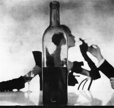 Fashion Photography: Irving Penn, Man Lighting Girl's Cigarette, New York, 1949