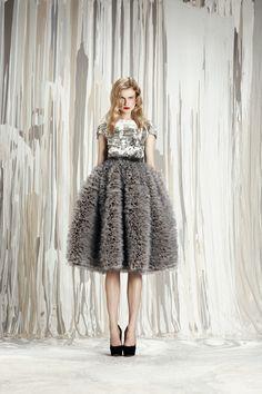 That skirt! Honor pre-fall 2012