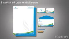Businesscard,LetterHead,Envelope Design