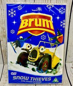 Brum - Snow Thieves And Other Stories (DVD, for sale online Snow, The Originals, Kids, Ebay, Children, Boys, Children's Comics, Boy Babies, Eyes
