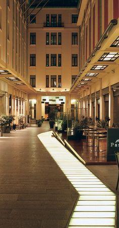 "Spyromiliou Arcade(also called the ""City Link""), Athens // photo Y Skoulas"
