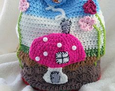 Crochet kids bag children bag handmade bag crochet children