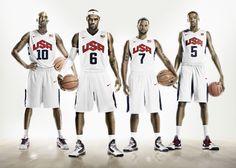 New Nike USA Basketball Uniforms