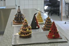 Concours Sapin Valrhona - Masters at work