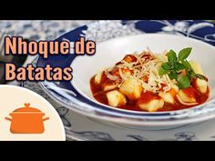 Nhoque (gnocchi) de batata - YouTube