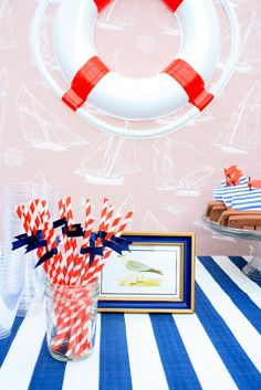 Nautical Birthday Decorations / 6th Street Design School