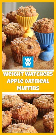 Weight Watchers Apple Oatmeal Muffins | weight watchers cooking