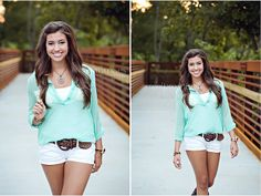 Lebanon High School senior pictures on metal bridge by Summer- Real Promises Photography, via Flickr