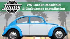 JBugs - VW Beetle Intake Manifold & Carburetor Installation
