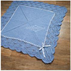 Jeans crochet baby blanket Baby Boy Blanket by GerberaHandmade Crochet Blanket Patterns, Baby Blanket Crochet, Baby Patterns, Crochet Baby, Baby Wrap Blanket, Baby Girl Blankets, Free Crochet Bag, Filet Crochet, Crochet Crafts