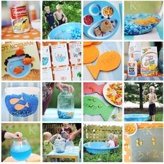 goldfish themed week of activities.