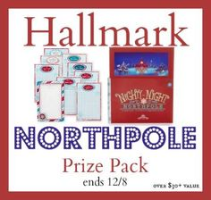 Hallmark North Pole Prize Pack GIVEAWAY