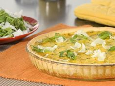 Tarte chèvre courgettes et moutarde - Recette de cuisine Marmiton : une recette