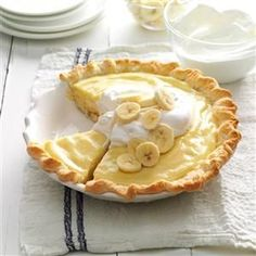 Banana Cream Pie Recipe -Made from our farm-fresh dairy products, this pie was a sensational creamy treat anytime that Mom served it. Her recipe is a real treasure, and I've never found one that tastes better! -Bernice Morris, Marshfield, Missouri