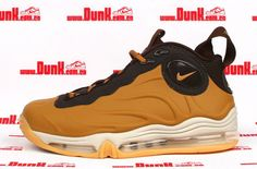 huge discount 0d6d7 a568f Nike Total Air Foamposite Max Wheat   Brown Foam Posites, Basketball Shoes,  Quotation,