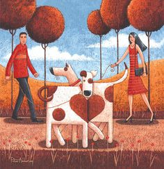 It Must Be Love Print by Peter Adderley