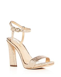 930843017dd Imagine Vince Camuto Women s Sune Distressed Metallic High Heel Sandals  Bridal Wedding Shoes