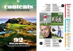 Table Of Contents, Magazine Layout Design, Wish You Are Here, Editorial Design, Design Inspiration, Tours, Content Page, Editorial Layout